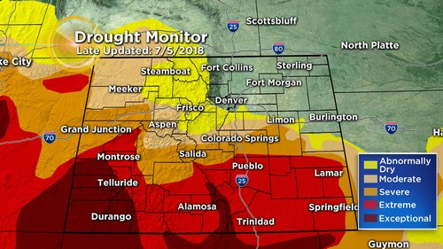 drought monitor Latest Forecast: Another Hot Day With Scattered PM T Storms