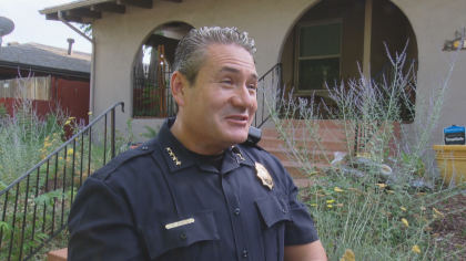 dpd new chief 10pkg transfer frame 291 New Denver Police Chief Reflects On Growing Up In Community He Serves
