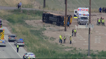 school bus crash State Troopers: Truck Driver Fell Asleep Before Crashing Into School Bus