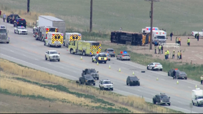 school bus rollover State Troopers: Truck Driver Fell Asleep Before Crashing Into School Bus
