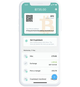 Wirex mobile app