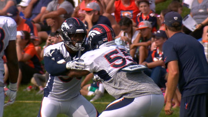 Rookie Bradley Chubb Hitting All Right Notes At Training Camp