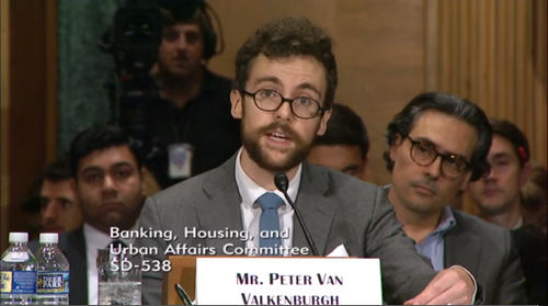 Crypto Defender Spars With Famed Critic During US Senate Hearing