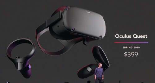 A New Standalone VR Headset in Town: Oculus Quest Will Cost $399, Arrives In Spring 2019