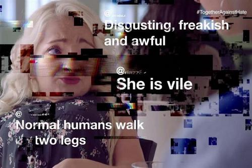 Channel 4 teams up with trio of brands to cast light on the brutality of online abuse