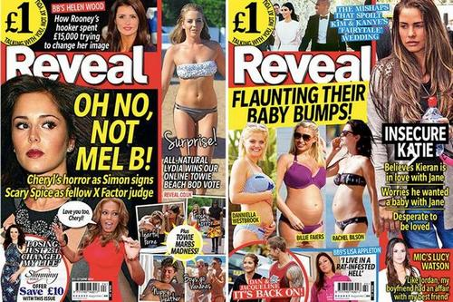 Hearst UK to shut celebrity weekly Reveal after circulation slump