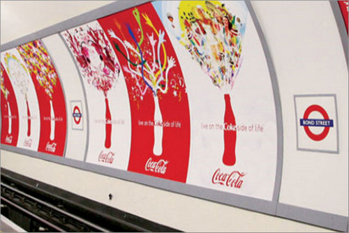 Coca-Cola: could be banned from advertising on TfL network under Mayor's plans