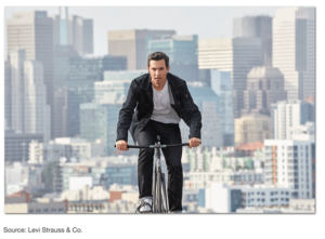 Levi Strauss & Co. Disrupts The Wearable Tech Industry With Its Commuter X Jacquard Jacket