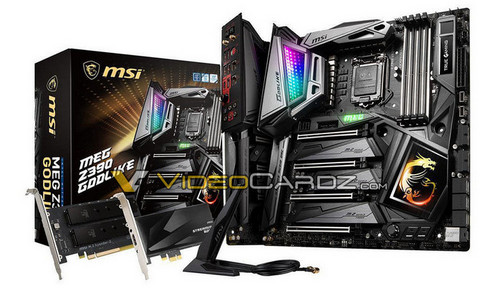 """MSI Z390 Motherboard Lineup Detailed: Includes a """"MEG GODLIKE"""""""