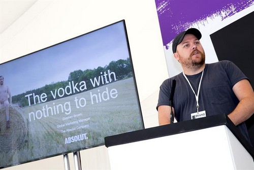 The Absolut Company global marketing manager Stephen Brown