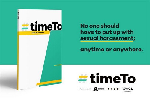 TimeTo calls #timesup on sexual harassment in advertising