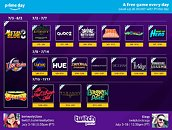 Twitch Announces 21 Game Giveaway