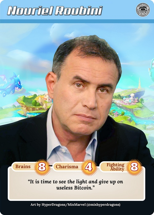 A Psychic Visit with Nouriel Roubini, The Mother and Father of All Crypto Skeptics