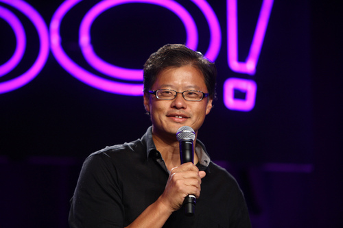 """Yahoo co-founder, Jerry Yang, says blockchain, """"natural technology for banks and trading"""""""