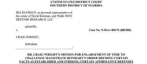 Craig Wright to Challenge Judge's Ruling in the Billion-Dollar Lawsuit