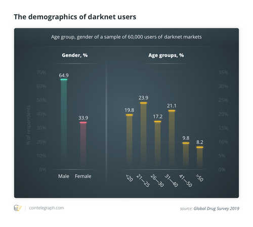 The demographics of darknet users