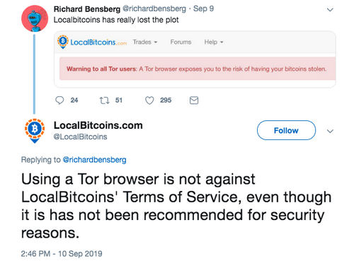 Tor Browser Users at Risk of Losing Their Bitcoins