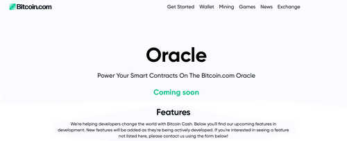 Software Engineer Reveals Oracle Creation Platform for Bitcoin Cash