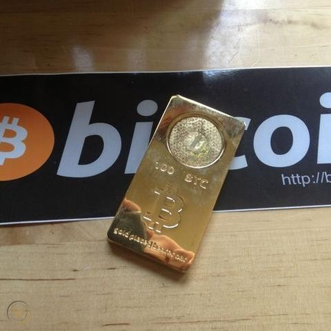 Someone Redeemed a 100 BTC Casascius Bar Worth Over $700K