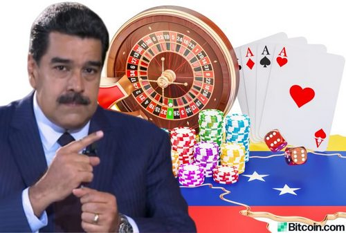 Maduro Opens International Crypto Casino