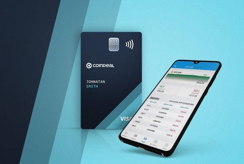 CoinDeal Launches Crypto Debit Card With Great Benefits