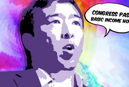 Andrew Yang Begs Congress to Pass Basic Income