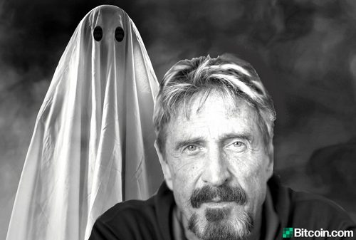 John McAfee to Launch Privacy Centric Crypto