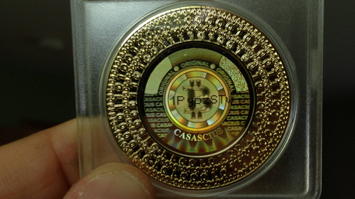 There's Only 20,000 Casascius Physical Bitcoins Left Unspent