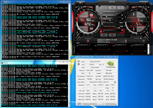 How To Overclock Nvidia and AMD Graphics Cards on Different Algorithms