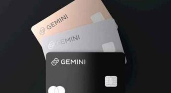 Gemini Exchange to Issue Its Own Credit Card for Cryptocurrency Cashbacks