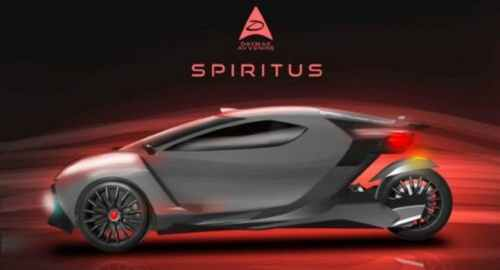 Daymak's Spiritus Electric Car Officially Launches Mining and Cryptocurrency Wallet